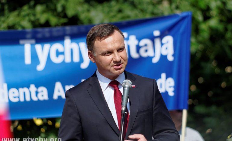 Prezydent Andrzej Duda odwiedził Tychy [foto]