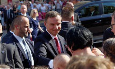 Wizyta Prezydenta Andrzeja Dudy w Tychach
