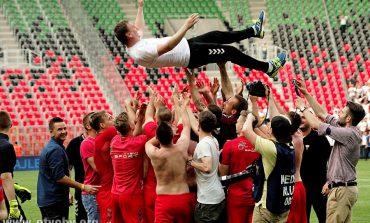 Piłka nożna: GKS Tychy awansował do 1. ligi [foto]