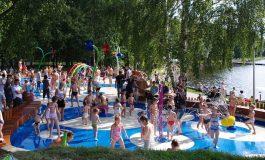 Otwarcie Wodnego Placu Zabaw na Paprocanach