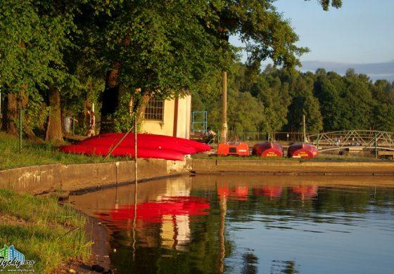 Wypożyczalnia sprzętu pływającego w OW Paprocany zamknięta