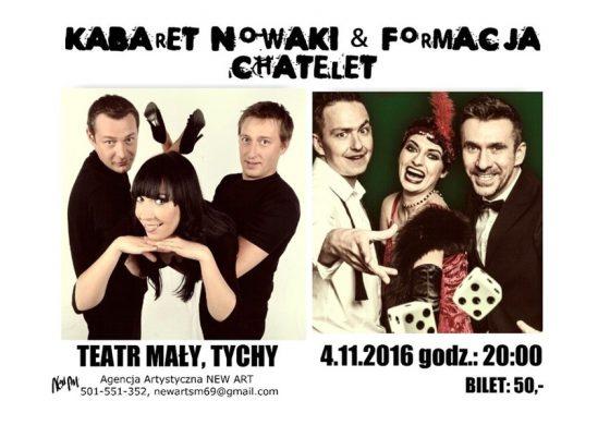 Kabarety Nowaki i Chatelet w Teatrze Małym