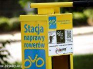 Sześć nowych stacji napraw rowerów w Tychach