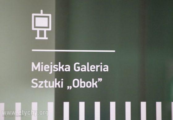 Wernisaż wystawy z okazji 25-lecia Miejskiej Galerii Sztuki OBOK