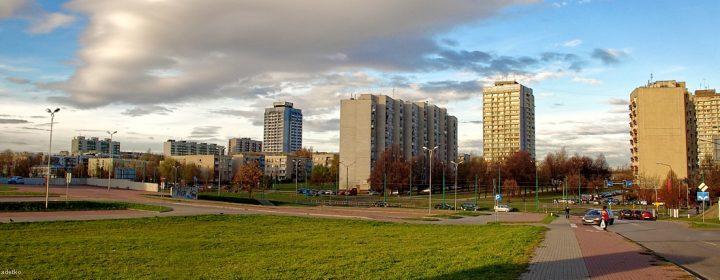 Tychy - Panorama miasta