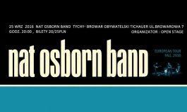Nat Osborn Band - koncert w Browarze Obywatelskim