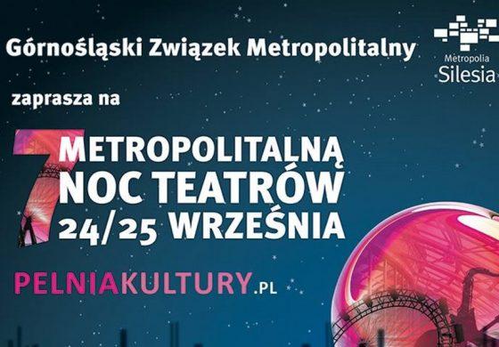 VII Metropolitalna Noc Teatrów w Tychach
