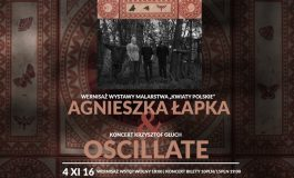 Agnieszka Łapka & Krzysztof Głuch Oscillate - wernisaż i koncert