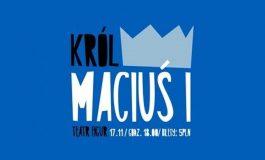 Czwartek z teatrem dla dzieci w Wilkowyjach - Król Maciuś I
