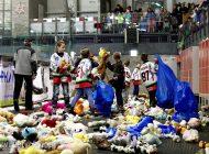 VII edycja akcji Teddy Bear Toss podczas meczu GKS Tychy - Unia Oświęcim