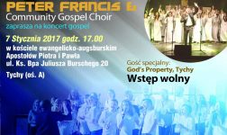 Koncert Peter Francis & Community Choir wraz z God's Property
