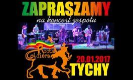 Koncert Roots Soldiers w Rasta Pub