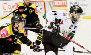 Hokej play-off: Ciężko ale zwycięsko [foto]