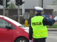 Ręczne kierowanie ruchem na skrzyżowaniu ulic Mikołowskiej i Katowickiej