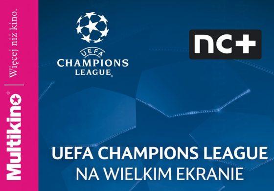 Półfinał Ligi Mistrzów UEFA na wielkim ekranie w Multikinie! – wygraj zaproszenia