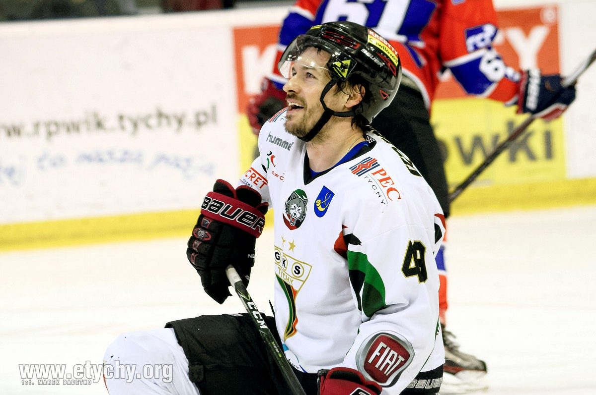 Hokej play-off: GKS Tychy wygrywa pierwsze starcie z Polonią Bytom  [foto]