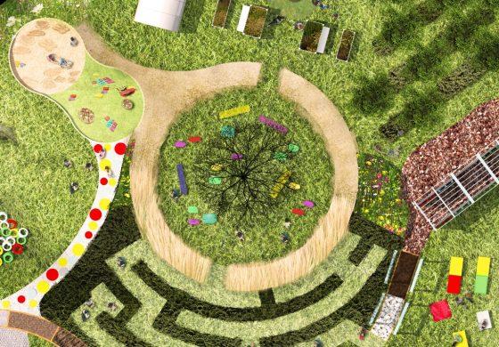 Przy Zespole Szkół Specjalnych powstanie ogród sensoryczny