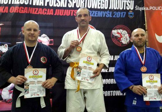 Tyski policjant srebrnym medalistą w XIII Mistrzostwach Polski w Jiujutsu