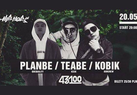 Koncert PlanBe, Kobik i Teabe w 43100