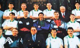 Spotkanie z dawnymi piłkarzami Sokoła Tychy w Tyskiej Galerii Sportu