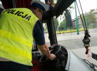 Kontrole autokarów w czasie ferii