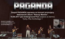 Koncert promujący debiutancki album zespołu Paganda w Underground