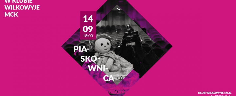 Czwartek z Teatrem dla Dorosłych w Wilkowyjach: Piaskownica