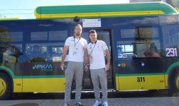Kanary z GKS Tychy. Piłkarze zapraszali na mecz