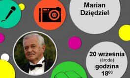 Tury Kultury w bibliotece: Marian Dziędziel