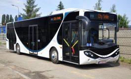 Elektryczny autobus Ursusa na testach w Tyskich Liniach Trolejbusowych
