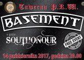 Koncert Basement i Southonour w Tawernie