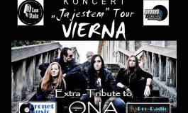 Vierna - Tribute to O.N.A oraz goście PAGE i Paganda w Tawernie
