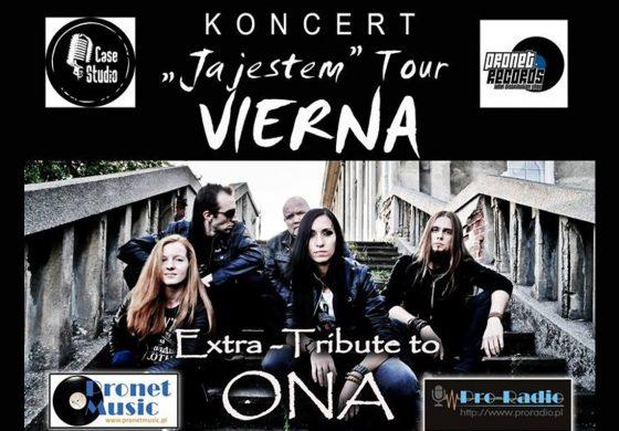 Vierna – Tribute to O.N.A oraz goście PAGE i Paganda w Tawernie