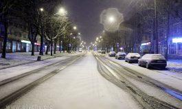 Zima z przytupem weszła do Tychów