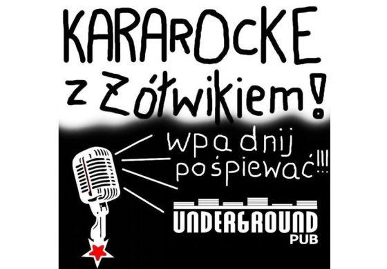 KaraROCKe z Żółwikiem w Underground Pub
