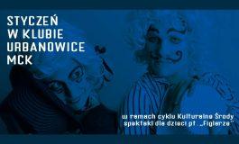 """Kulturalne Środy w Urbanowicach: Spektakl dla dzieci """"Figlarze"""""""