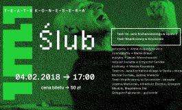 """Teatr Konesera - """"Ślub"""" w Teatrze Małym"""