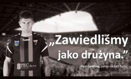 Piłkarze GKS Tychy przeprosili kibiców - to pomysł na reklamę Tyskiego Sportu