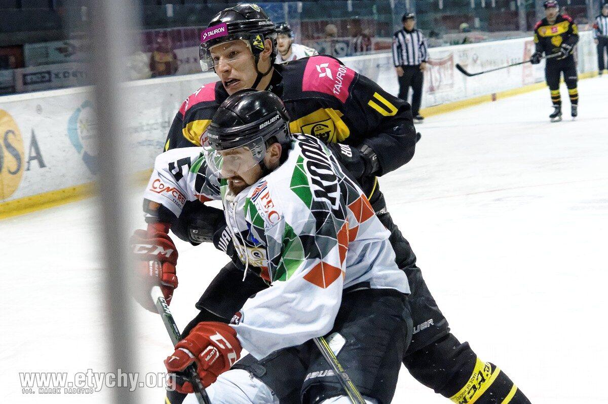 Hokej: Przetarcie przed play-off [foto]