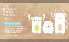 Czwartek z Teatrem dla Dzieci w Wilkowyjach: Przyjaciel z Wyobraźni
