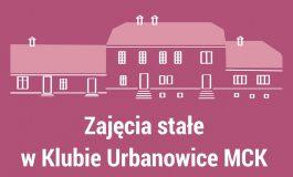Zajęcia stałe w Klubie MCK Urbanowice