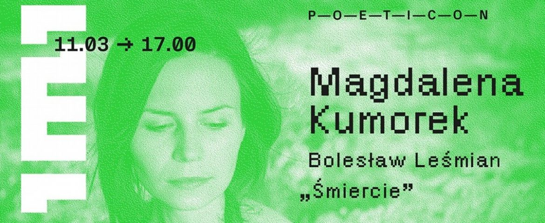 """Magdalena Kumorek """"śmiercie"""" w Teatrze Małym"""