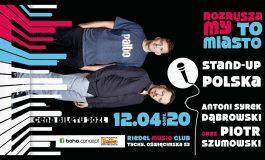 Stand-up: Antoni Syrek-Dąbrowski i Piotrek Szumowski w Riedel Music Club