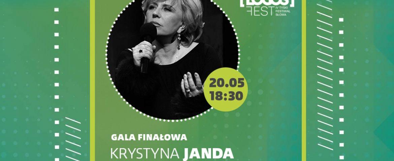 """""""Piosenki z teatru"""" koncert Krystyny Jandy – Gala Finałowa LOGOS FEST"""