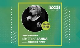 """""""Piosenki z teatru"""" koncert Krystyny Jandy - Gala Finałowa LOGOS FEST"""