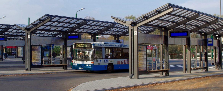 Linie autobusowe na lotnisko, z Tychów wyłącznie w nocy