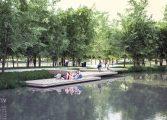 Nowa forma parku - Park Północny zostanie odnowiony [wizualizacja]