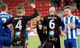 Piłka nożna: GKS Tychy wygrywa w derbach z Ruchem Chorzów [foto]