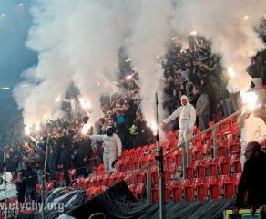 Piłka nożna: GKS Tychy - Ruch Chorzów (2018.03.31) [galeria]