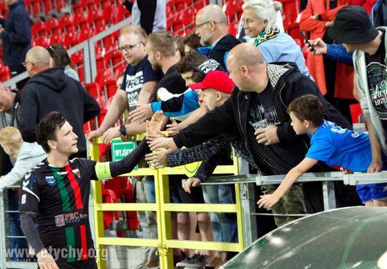 Piłka nożna: GKS Tychy - Miedź Legnica (2018.05.04) [galeria]
